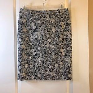 Halogen Nordstrom Floral Skirt